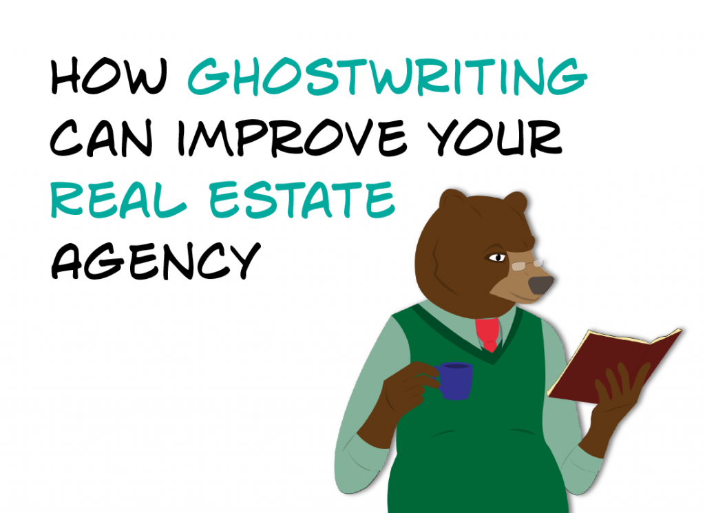 featured image - How Ghostwriting can improve your Real Estate Agency